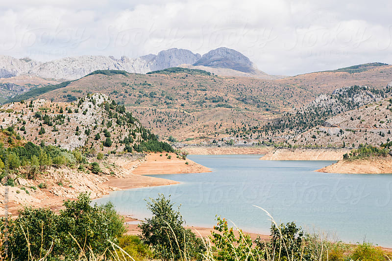 Lake and mountains landscape in north of Spain by Alejandro Moreno de Carlos for Stocksy United