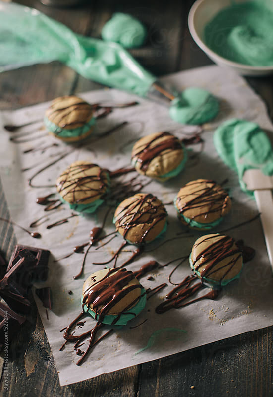 Homemade Macaroons by Davide Illini for Stocksy United