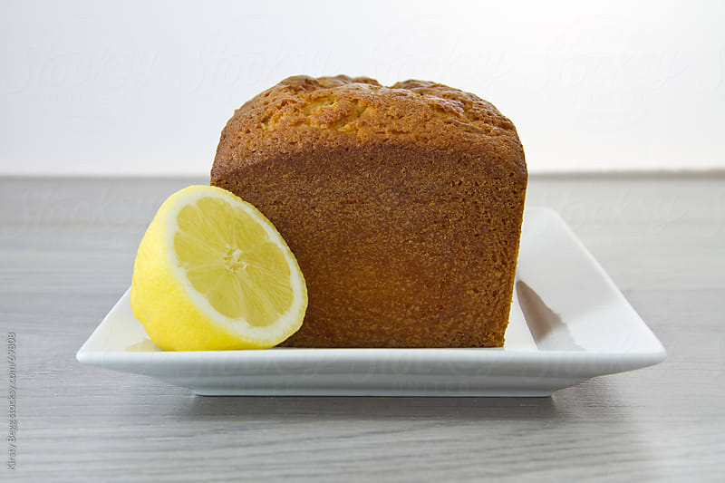 Lemon Loaf unglazed by Kirsty Begg for Stocksy United