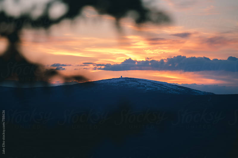 Ester Dome Sunset 5 by Jake Elko for Stocksy United
