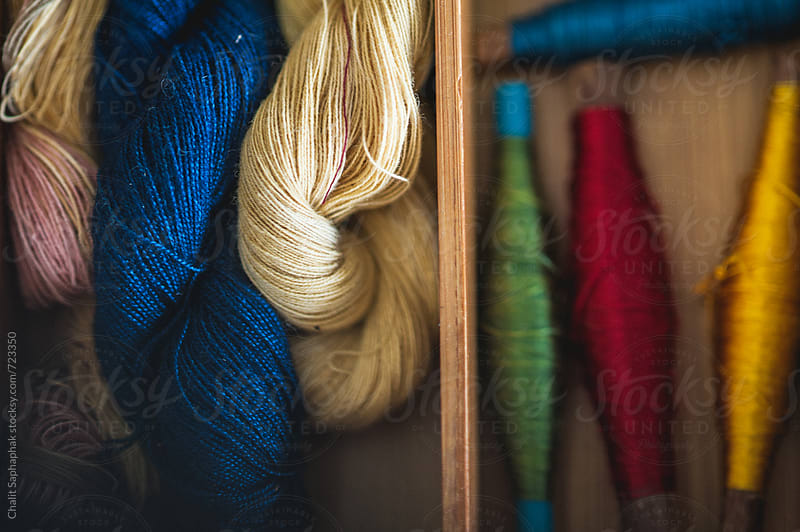 Cotton Thread by Chalit Saphaphak for Stocksy United