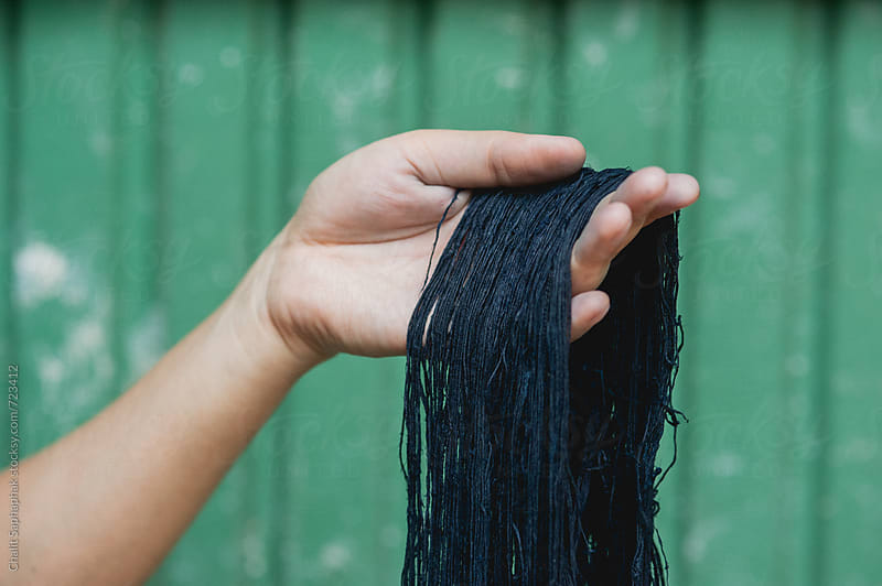 Dye Indigo by Chalit Saphaphak for Stocksy United