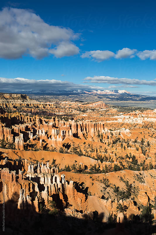 View of the Bryce Canyon Amphitheater by michela ravasio for Stocksy United