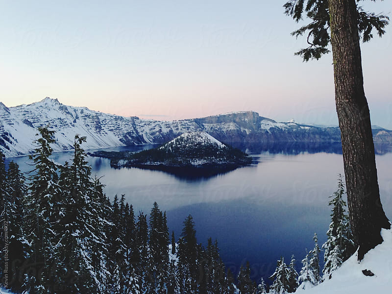 Crater Lake by Kevin Russ for Stocksy United