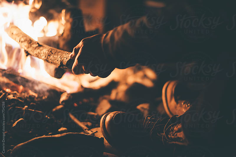 Campfire by Camrin Dengel for Stocksy United