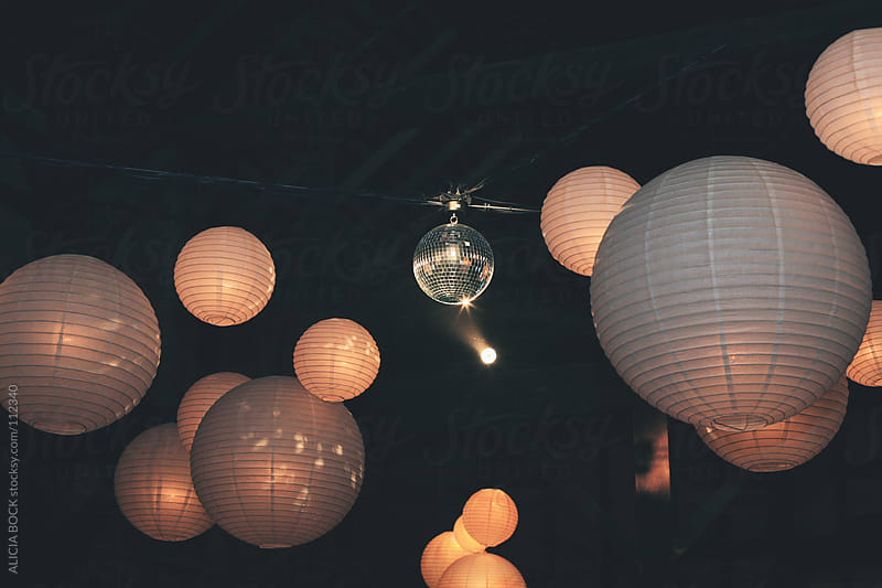 Party Lanterns 1 by ALICIA BOCK for Stocksy United