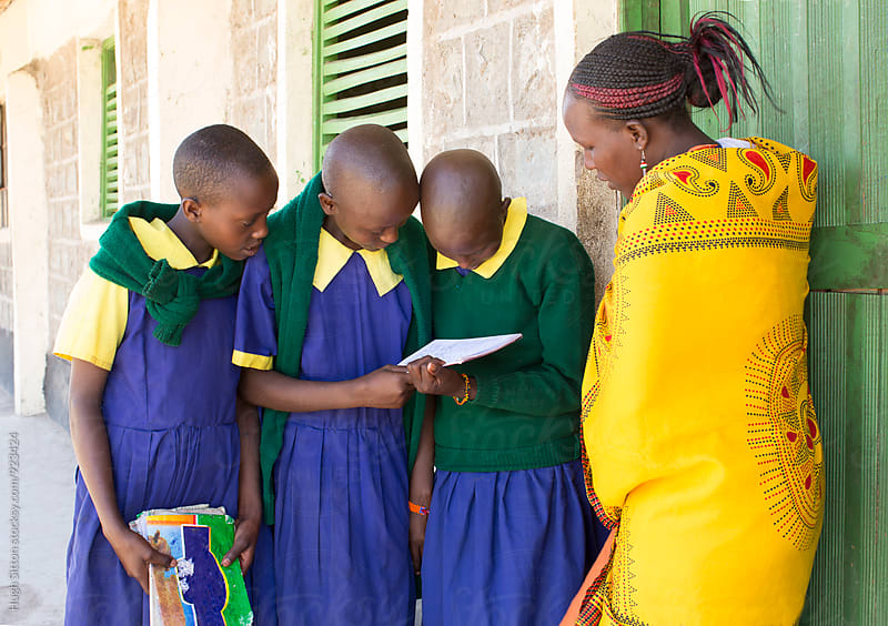 Primary School. Kenya by Hugh Sitton for Stocksy United