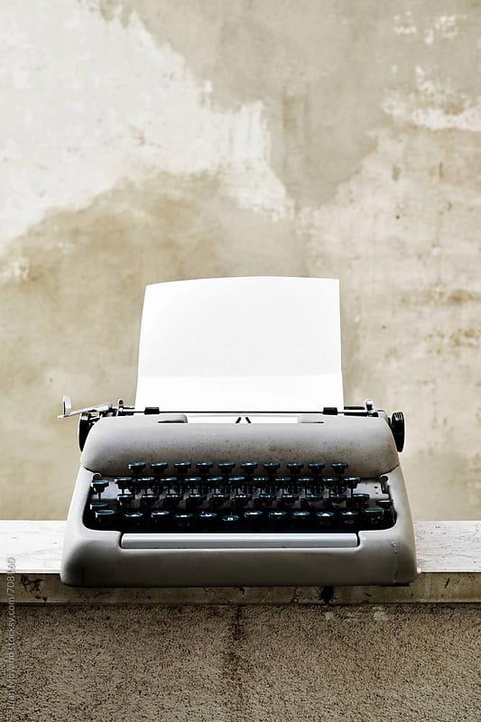 Typewriter by juan moyano for Stocksy United