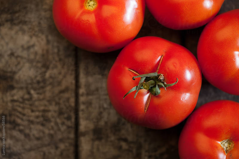 Ripe Tomatoes by Lumina for Stocksy United