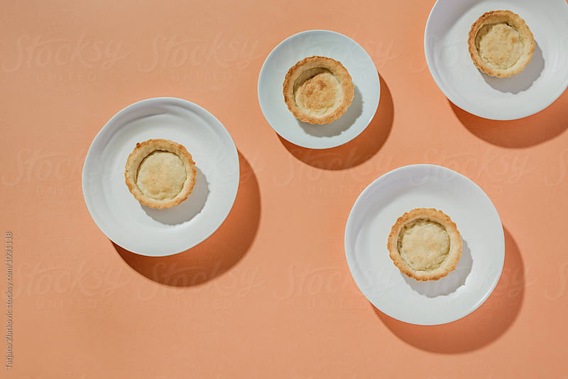 Pastry for vegan tart by Tatjana Zlatkovic for Stocksy United