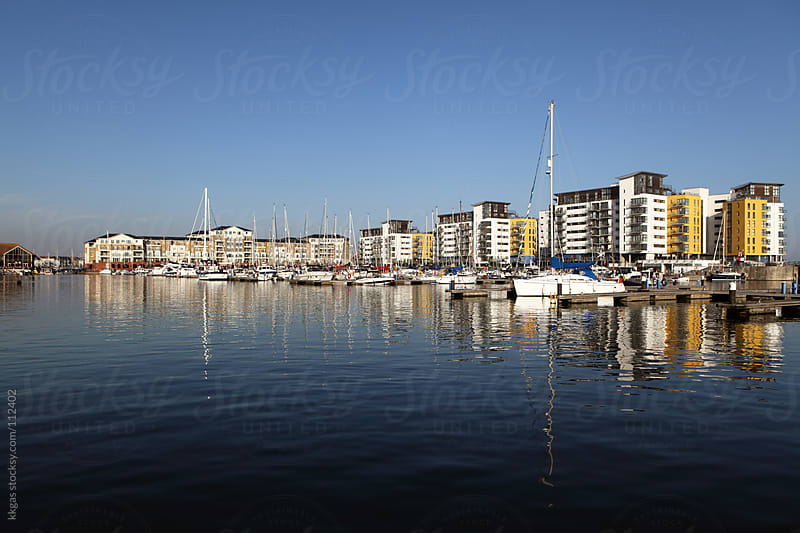 Eastbourne Marina  by kkgas for Stocksy United