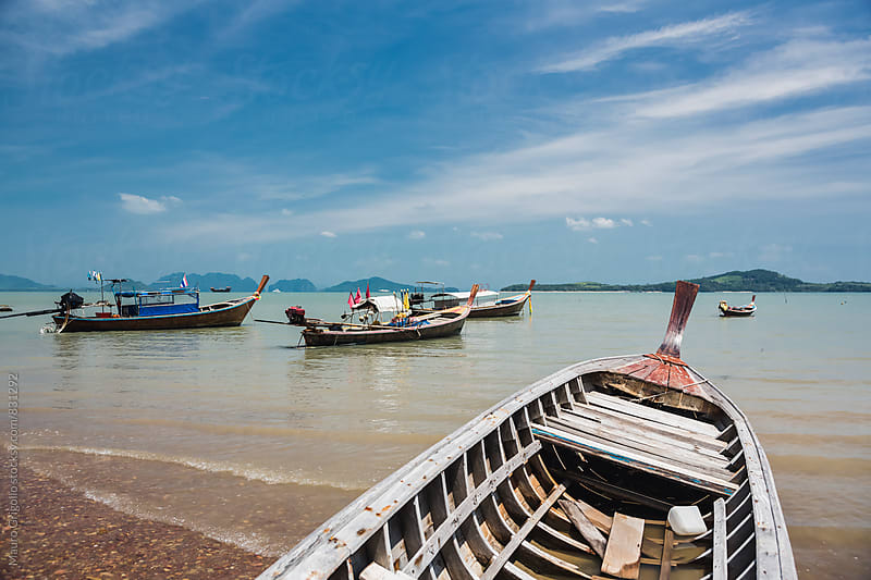 Seascape in Thailand by Mauro Grigollo for Stocksy United