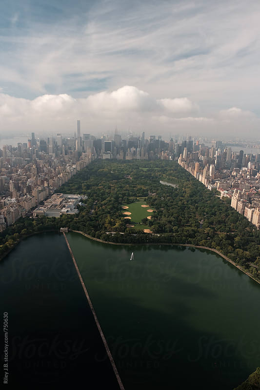 Above Central Park Looking South by Riley Joseph for Stocksy United