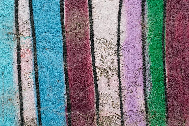 Stripes on a wall by Gabriel (Gabi) Bucataru for Stocksy United