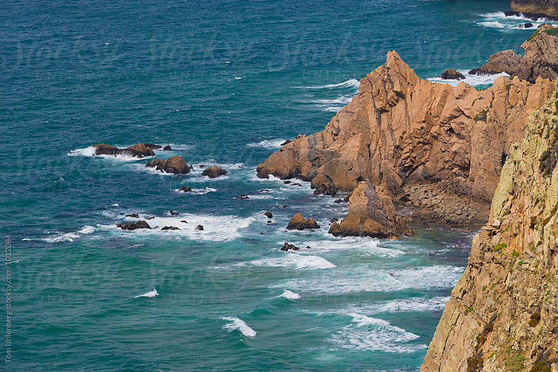 Rocky Coast of Cape Roca (Cabo da Roca) in Portugal - Westernmost Point of Continental Europe by Tom Uhlenberg for Stocksy United