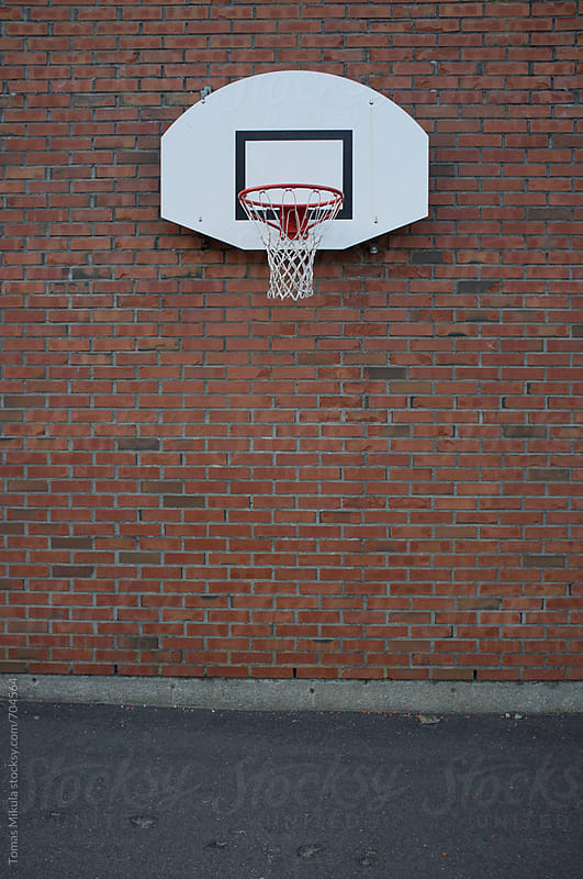 Basketball bucket by Tomas Mikula for Stocksy United