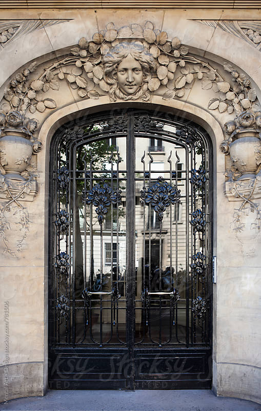 Paris, France, Architecture by Mental Art + Design for Stocksy United