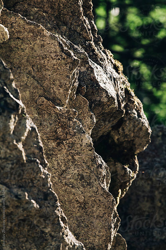 Massive rock closeup by Borislav Zhuykov for Stocksy United