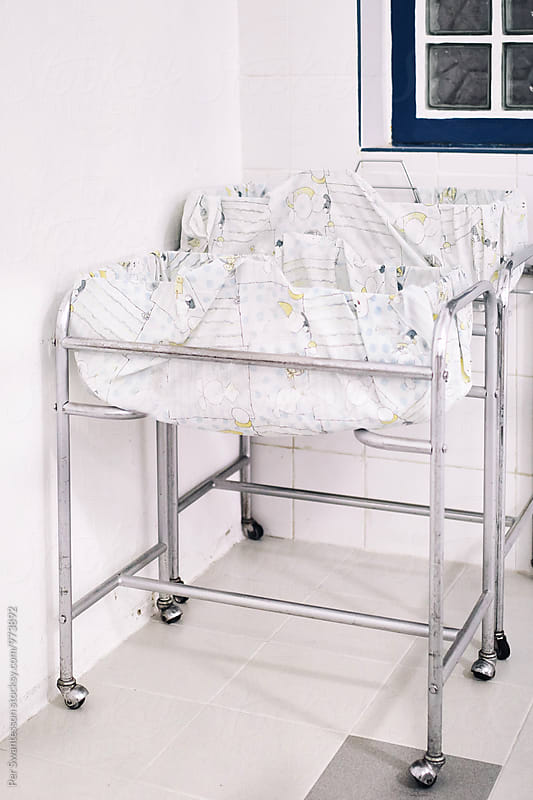 Baby cribs in a hospital by Per Swantesson for Stocksy United