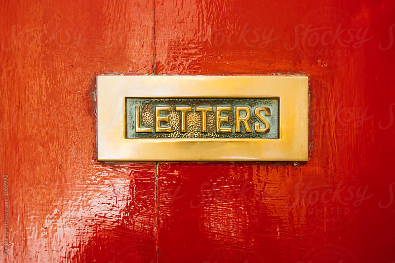 Letter box by Sam Burton for Stocksy United