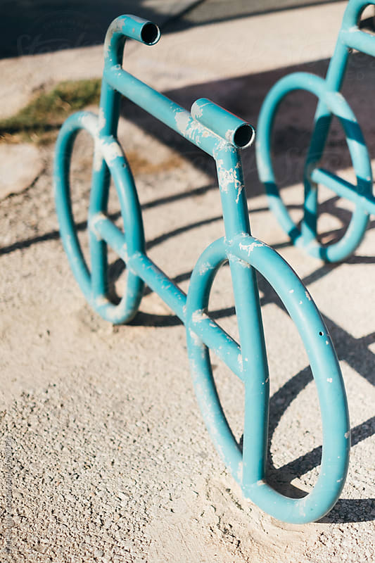 Bike rack by Sam Burton for Stocksy United
