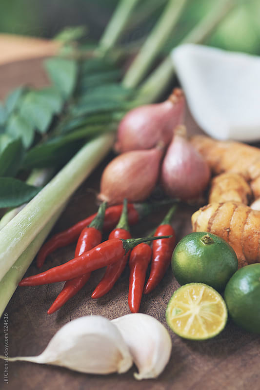 South east asian spices  by Jill Chen for Stocksy United