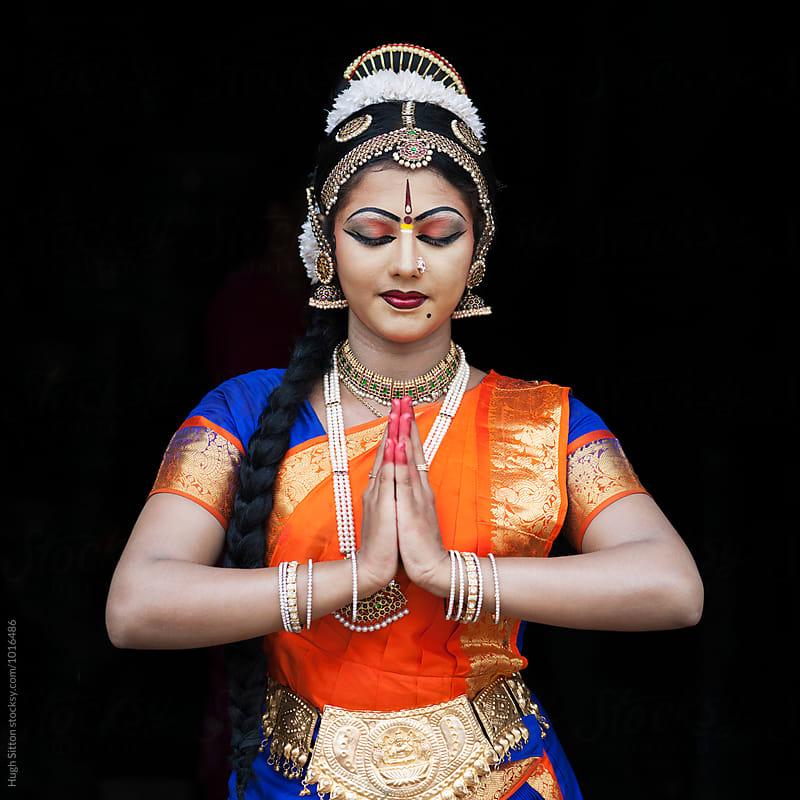 Female Kuchipudi Dancer. Kerala. India. by Hugh Sitton for Stocksy United