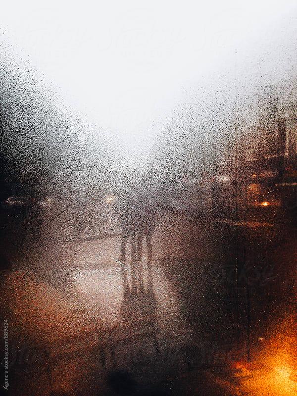 Rainy Street by Agencia for Stocksy United