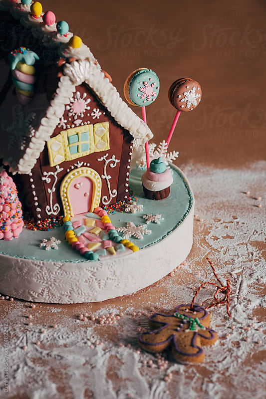 Gingerbread House by Lumina for Stocksy United