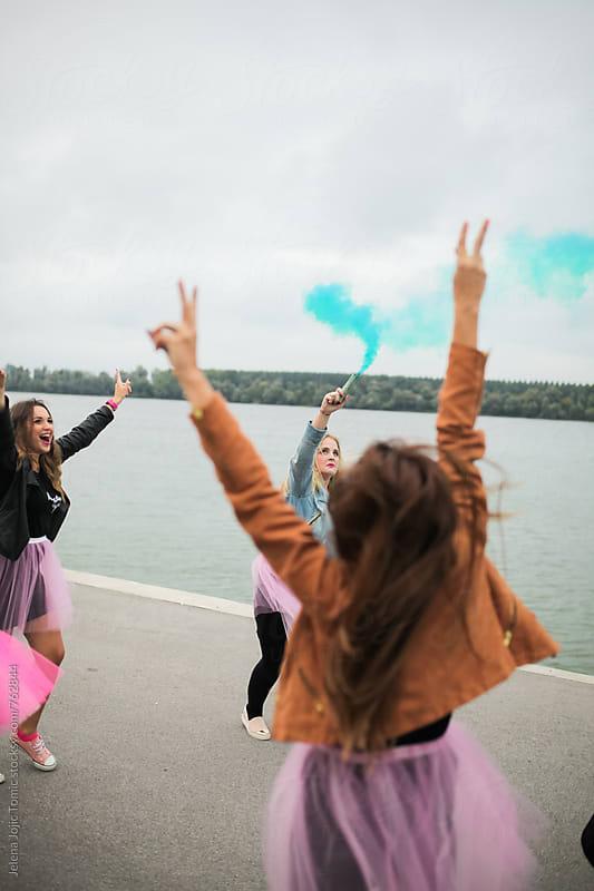 Party girls by Jelena Jojic Tomic for Stocksy United