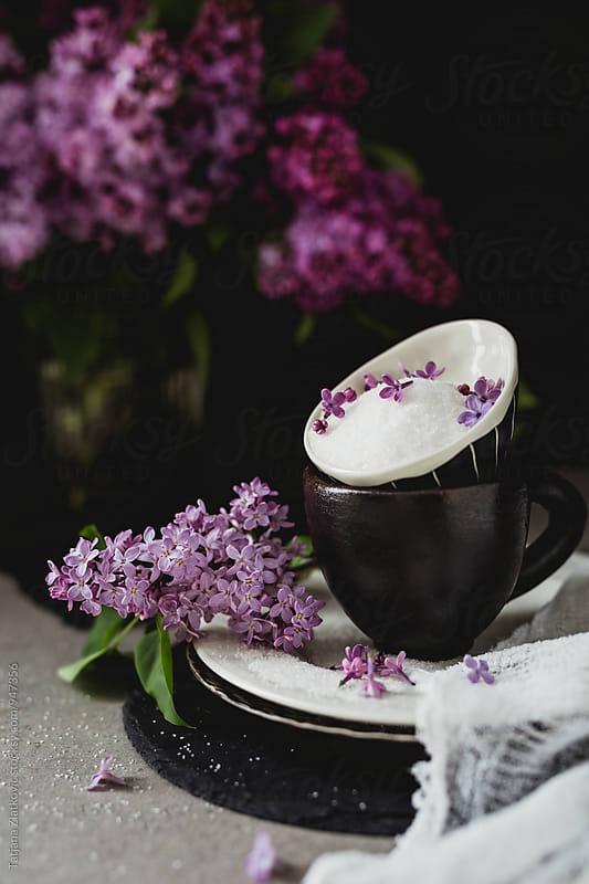 Lilac sugar by Tatjana Ristanic for Stocksy United