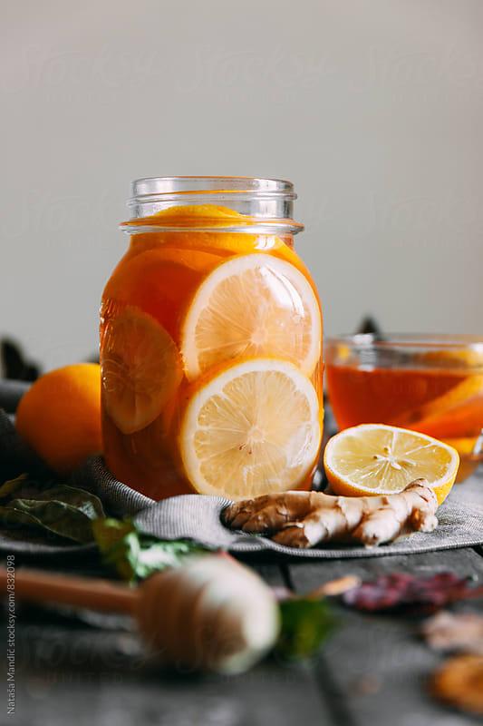 Ginger Lemon Tea by Nataša Mandić for Stocksy United