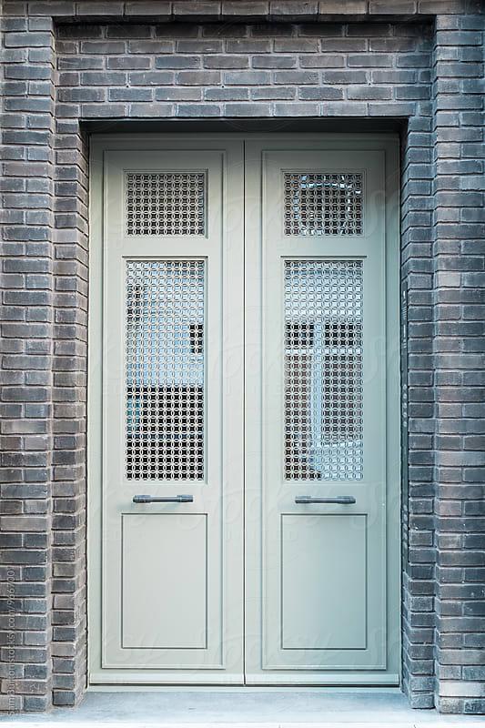 Modern door by Sam Burton for Stocksy United