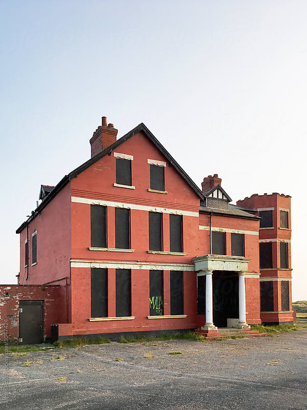 Condemned building by James Ross for Stocksy United
