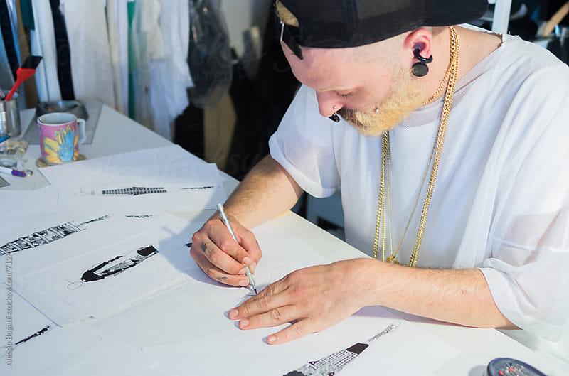 Fashion design project by Alessio Bogani for Stocksy United