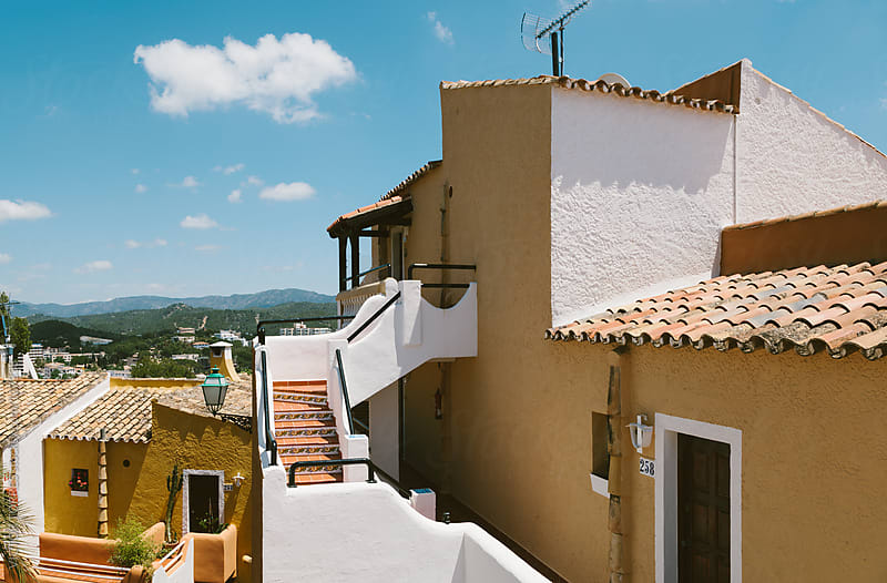 Rural Village in Paguera, Cala Fornells, Majorca by VICTOR TORRES for Stocksy United
