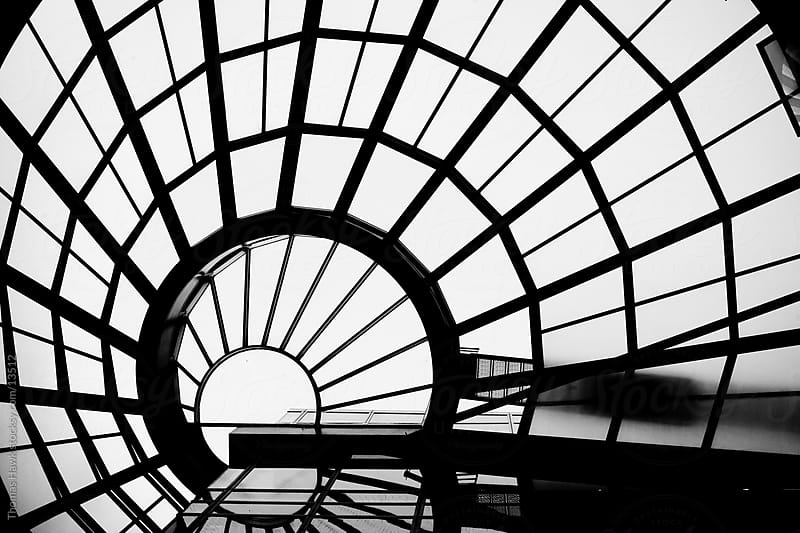 Skylight in San Francisco Main Public Library by Thomas Hawk for Stocksy United