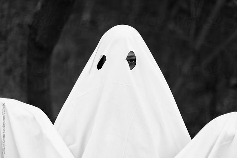 portrait of ghost  by Alexey Kuzma for Stocksy United
