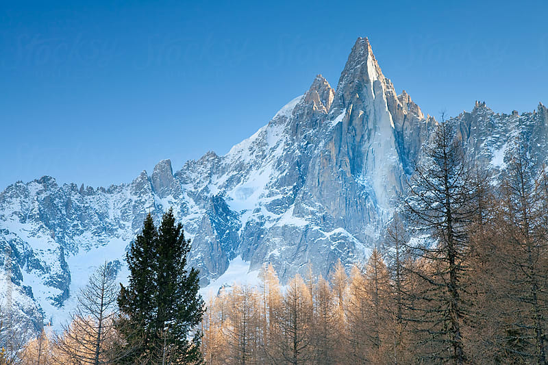 Chamonix-Mont-Blanc, French Alps, Haute Savoie, Chamonix, France by Gavin Hellier for Stocksy United