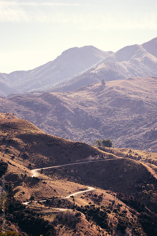 The Scenic route home. by Christopher Jerard for Stocksy United