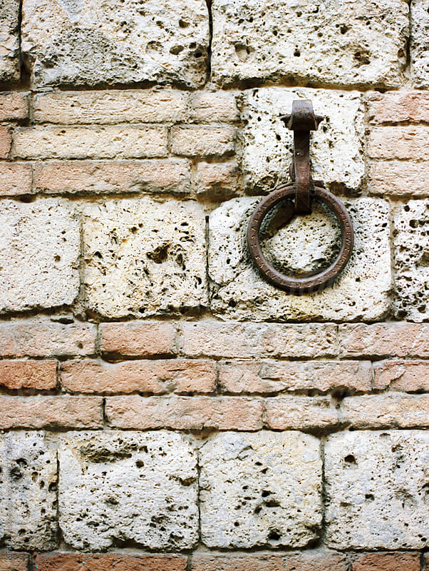 Detail of a wall in Siena by Kirstin Mckee for Stocksy United