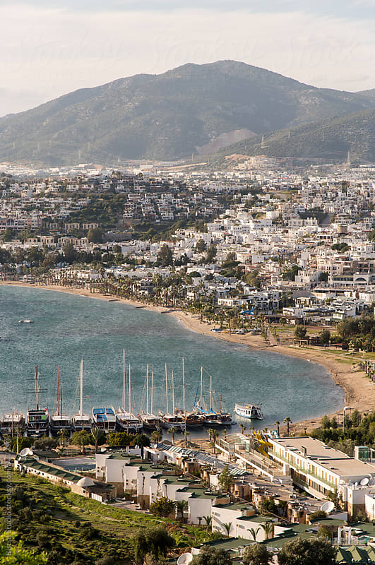 Views of Bodrum city in Turkey by Bisual Studio for Stocksy United