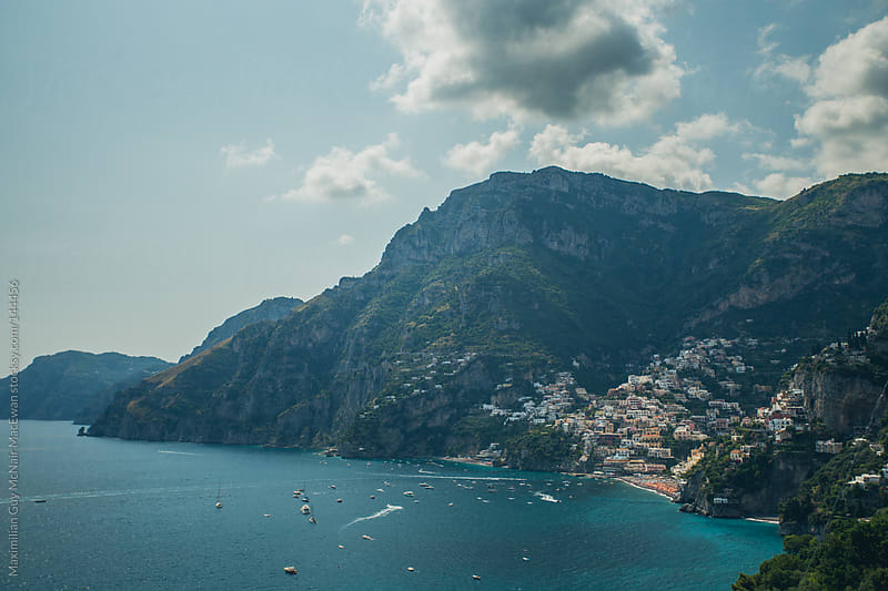 The Amalfi Coast of Italy by Maximilian Guy McNair MacEwan for Stocksy United