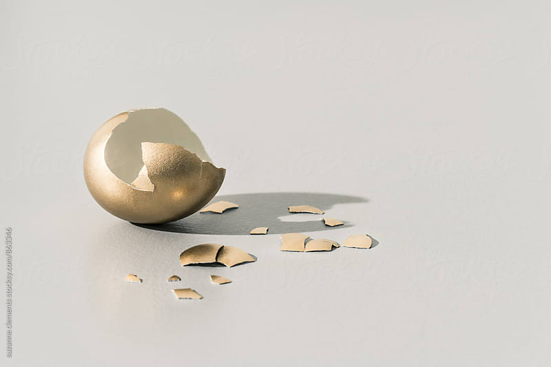 Golden Egg by suzanne clements for Stocksy United
