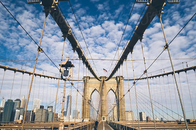 Brooklyn Bridge New York City by GIC for Stocksy United
