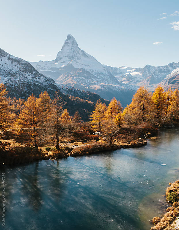 Matterhorn, Switzerland by Kevin Faingnaert for Stocksy United