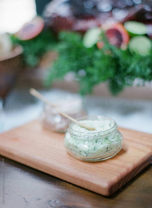 Gourmet herb spreads by Marta Locklear for Stocksy United