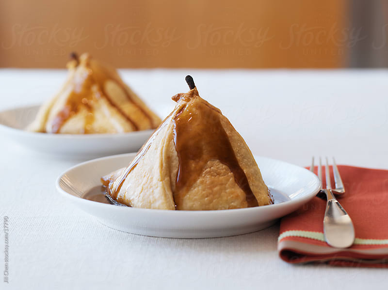 Baked Pears by Jill Chen for Stocksy United