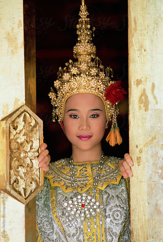 Traditional Thai dancer, Chiang Mai, Thailand, Asia by Gavin Hellier for Stocksy United
