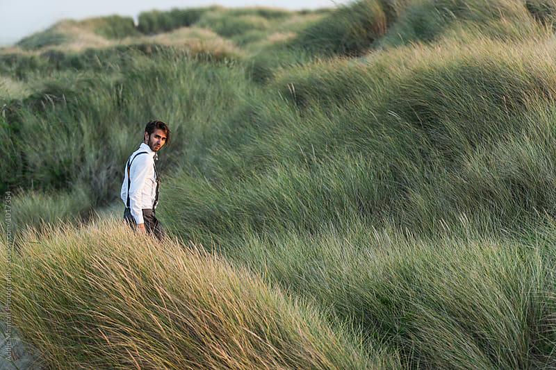 walk through the grassland by Addie Mannan Photography for Stocksy United